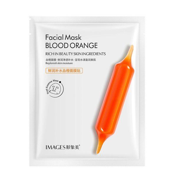 ماسک صورت ورقه ای ضد پیری پرتقال خونی ایمیجز IMAGES MASK