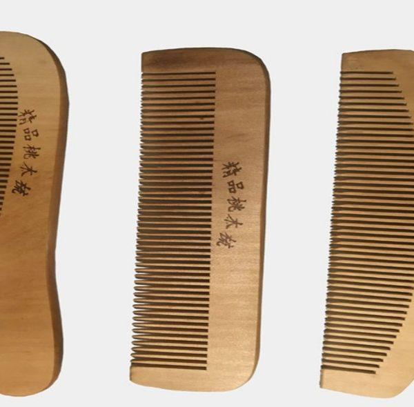 شانه چوبی بسته سه عددی